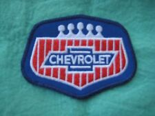 """Chevrolet  Service  Uniform Patch 3 3/8"""" X  2 3/8"""""""