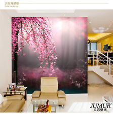 Peach Blossom 3d Mural Rolls Living room Background Wall Wallpaper Wall Decor L