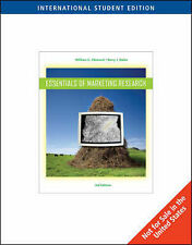 Essential of Marketing Research, 0324548273, Very Good Book