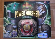 Mighty Morphin Power Rangers Legacy Power Morpher Green/White Ranger Edition NEW