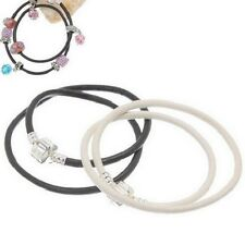 2 PACK DOUBLE LEATHER BRACELET FOR CHARMS AND BEADS