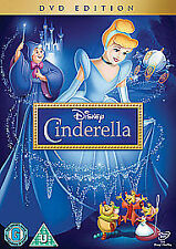 Cinderella DVD Walt Disney Cartoon Brand New Sealed Original UK Release R2