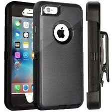 Apple iPhone 6 Plus Defender Case Cover w/ Holster [ Belt Clip Fits Otter box ]