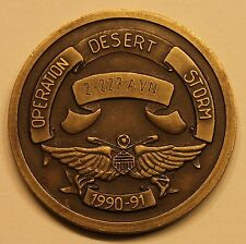 3rd Armored Division 2nd BN 227th Aviation Op Desert Storm Army Challenge Coin