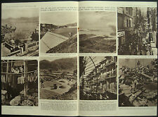 Hong Kong Harbour Kowloon Shaukiwan Victoria 1952 4 Page Photo Article
