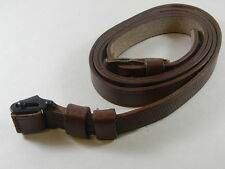 MAUSER 98K LEATHER SLING WITH KEEPER