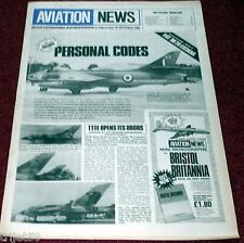 Aviation News 10.12 Fiat BR20,RAF Squadron Personal Codes