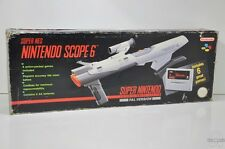 NINTENDO SCOPE 6 - SNES - Super Nintendo - Boxed & Complete