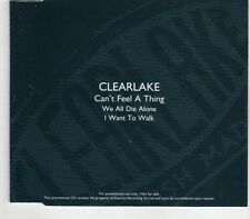 (GV236) Clearlake, Can't Feel A Thing - 2003 DJ CD