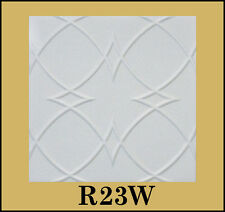 Decorative Texture Ceiling Tiles Glue UP - R23W On SALE