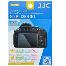 JJC GSP-D5300 Optical GLASS LCD Screen Protector Film for Nikon D5300 D-5300 H9