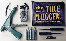 NEW CAR & VAN TUBELESS TYRE PLUGGER PUNCTURE REPAIR KIT Inc. Co2 CANISTERS