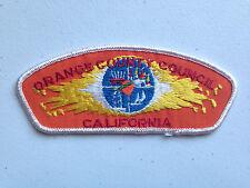 BOY SCOUT BSA CSP COUNCIL PATCH ORANGE COUNTY CALIFORNIA PLAIN NO TEXT MINT