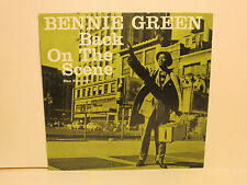BENNIE GREEN - Back on the Scene ~ BLUE NOTE 1587 {nm} -- RARE JAPAN WHITE LABEL