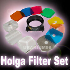 HOLGA Color Filter Set - 120 GCFN CFN GN N GFN FN GTLR PC 135 BC TLR Film Camera