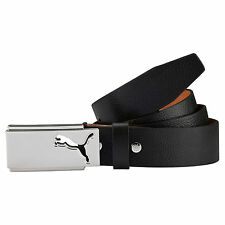 New 2016 PUMA Golf High Flyer Fitted Belt Rickie Fowler COLOR: Black SIZE: Small