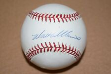 Walt Williams (1943-2016) Autographed Baseball