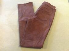 COOKIE JOHNSON brown SIZE 28 USA MADE  FAITH STRAIGHT LEG PANTS JEANS EUC