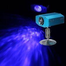LED Lichteffekt Laser Projektor DJ Disco Party Stage Bühnenbeleuchtung KTV Blau