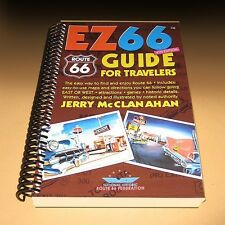 ROUTE 66 EZ GUIDE for TRAVELERS NEW 4th Edition EZ66 map book RT 66