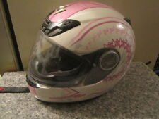 Scorpion EXO-400 Lilly Womens Motorcycle Helmet Size M Preowned