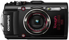 Olympus Stylus TOUGH TG-4 16MP Digital Camera Black Full HD WiFi GPS WATERPROOF