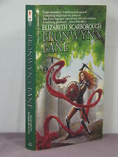 1st, signed, Argonia 3: Bronwyn's Bane by Elizabeth Ann Scarborough (1983) pb