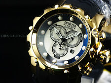 INVICTA Men Reserve Venom Sea Dragon Gen II 18KGP Chrono White MOP Strap Watch