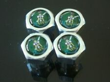 THE GREEN HOWARDS MILITARY BRAND NEW CAR TYRE VALVE CAPS