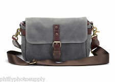 "Ona ""The Bowery"" Smoke Camera Bag - Handcrafted Premium Bags   Protect in Style"