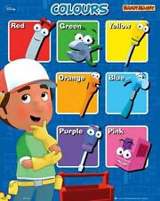 Handy Manny : Colours - Mini Poster 40cm x 50cm (new & sealed)