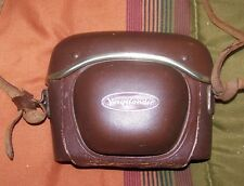 VINTAGE CAMERA VOIGTLANDER 35MM WITH LEATHER CASE