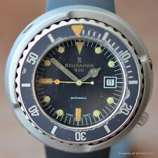 SCUBAPRO 500M AUTOMATIC OG TUNA 49MM 1970's STAINLESS TOOL DIVER SHROUD CASE