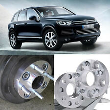 4pcs 5X130 71.6CB 30mm Thick Hubcenteric Wheel Spacer Adapters For VW Touareg
