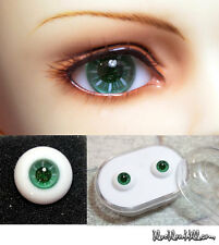 1/3 1/4 bjd 12mm green glass doll eyes with box dollfie Luts iplehouse #EAS-08