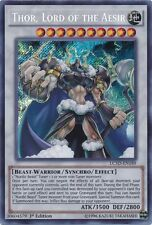 Thor, Lord of the Aesir (LC5D-EN189) - Secret Rare - Near Mint - 1st Edition