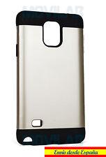 Funda / Carcasa Samsung N910 - Galaxy Note 4 antigolpes tipo Spigen color Dorado
