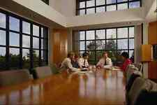 673055 Executives Around Conference Table A4 Photo Print