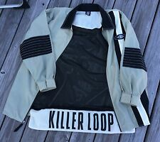 VINTAGE KILLER LOOP SUNGLASSES 90's RARE MEN'S XL  JACKET