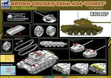 Bronco 1/35 35010SP Brtish Cruiser Tank A34 Comet