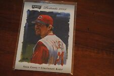 2003 Playoff Portraits Baseball Card Sean Casey 95 that's numbered 11/50 RARE