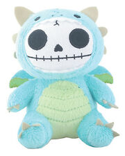 Furry Bones SCORCHIE the Dragon Small Plush, Skeleton in Costume, NWT
