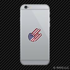 American Shocker Cell Phone Sticker Mobile United States America USA US
