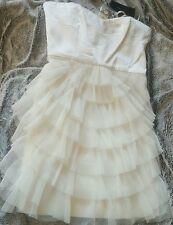 NWT BCBG Maxazria cocktail tiered dress size 6