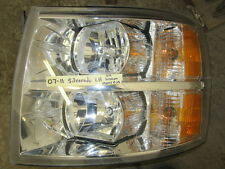 07-11 Chevy Silverado left drivers side OEM headlight