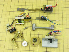 Akai GXC-730D Cassette Deck Repair Part - Assorted Switches, Solenoid, Linkages