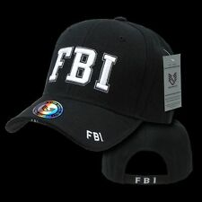 FBI Baseball Caps Hat Ballcap Federal Bureau of Investigation Rapdom JW-FBI