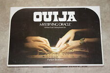 Vintage 1972 Parker Brothers William Fuld Ouija Board Creepy Halloween Party