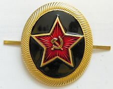 USSR Army Navy Marines Beret Hat Metal Badge Original Soviet Russian