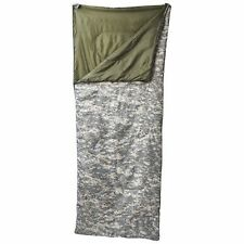 Digital Camo Camouflage and Army Green Warm Camping Sleeping Bag